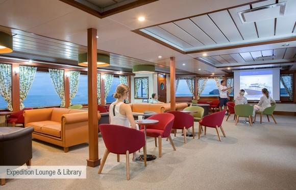 Santa Cruz Expedition lounge y libreria
