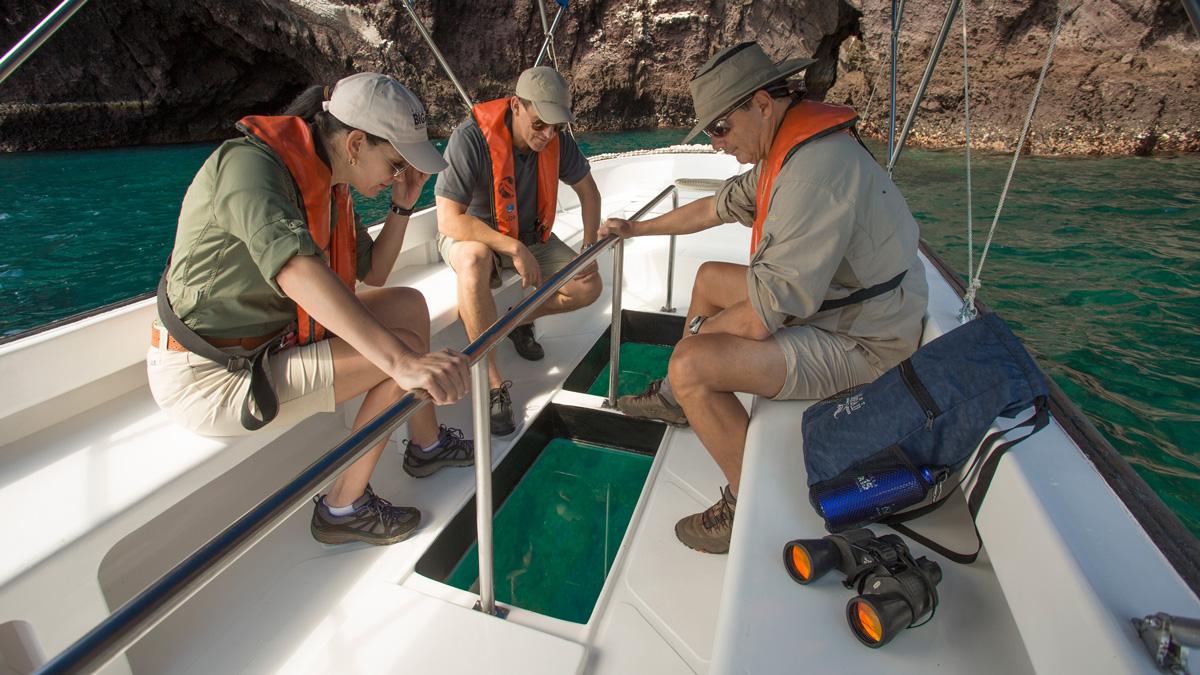 Yacht Isabela II – Activities – Glass bottom boat
