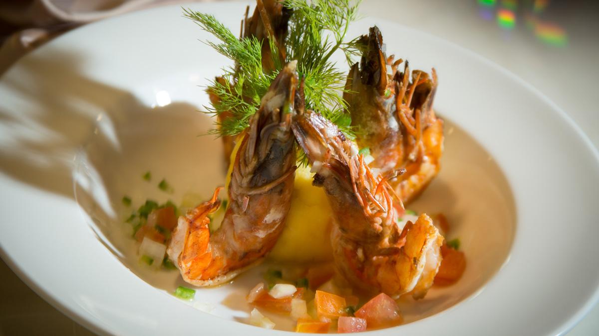 Yacht Isabela II – Gastronomy