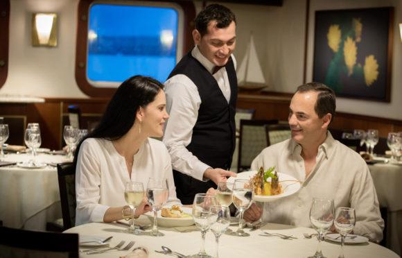 Yacht Isabela II – Social Area – Dining Room