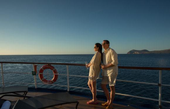 Yacht Isabela II – Social Area – Sun Deck