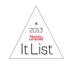 2013 Travel and Leisure It List