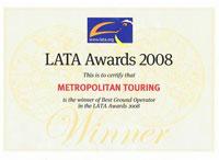 LATA Awards 2008