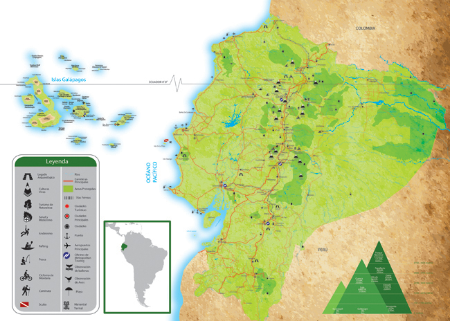 Mapas de Ecuador
