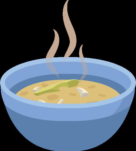 Sopa de papa criolla